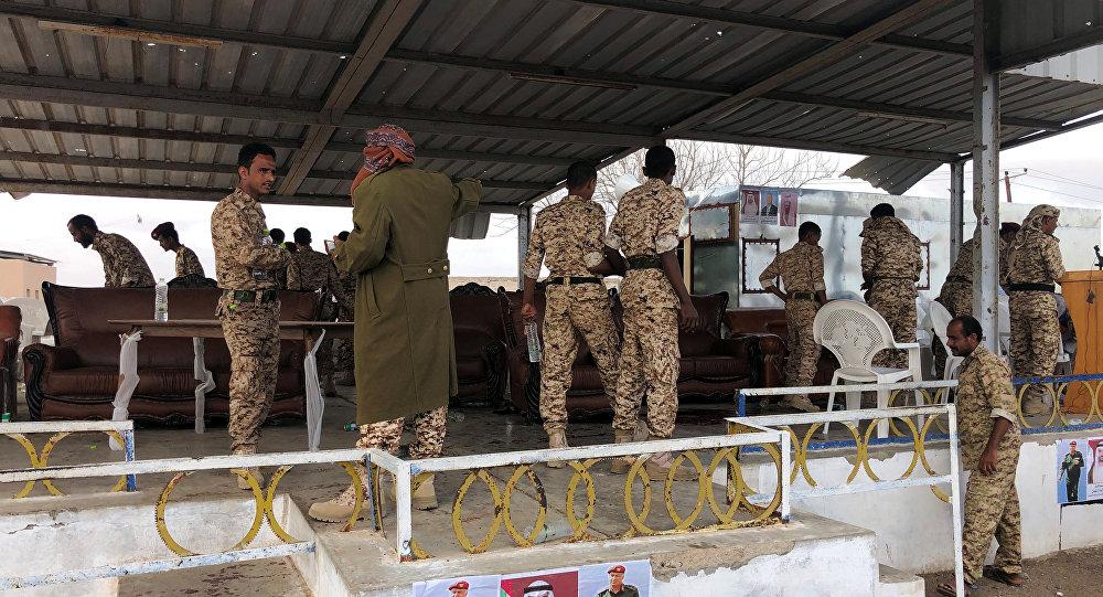 عرض عسكري لقوات الجيش اليمني في محافظة لحج باليمن