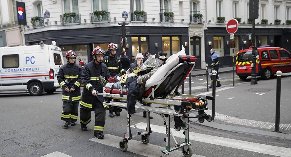 انفجار في باريس