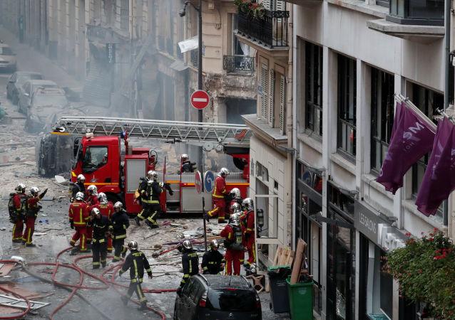 انفجار الغاز في باريس
