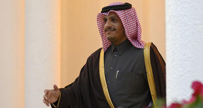 وزير الخارجية القطري، محمد بن عبد الرحمن آل ثاني