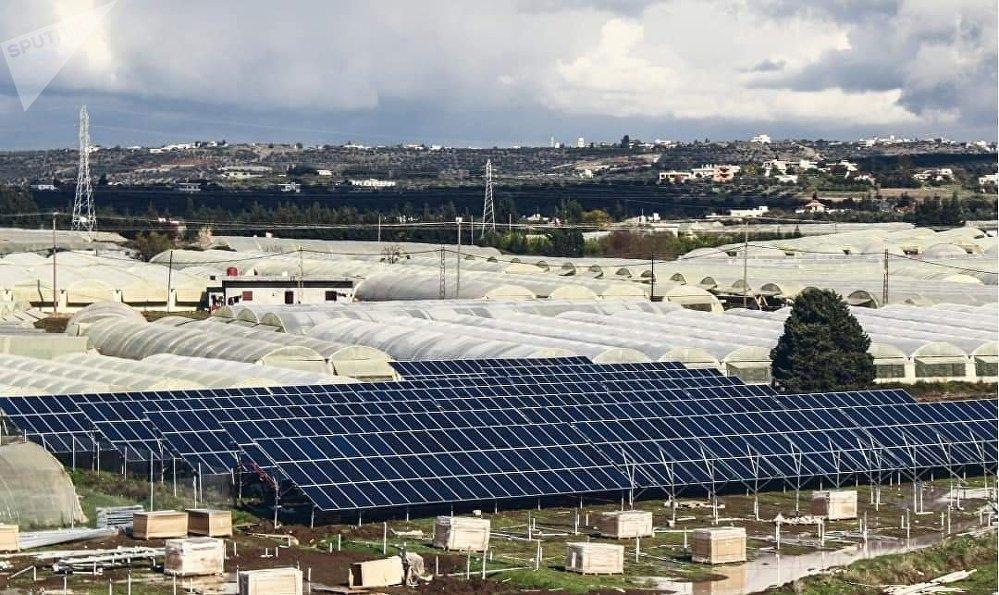 طرطوس تحتضن أكبر مشروع سوري لتوليد الكهرباء الشمسية