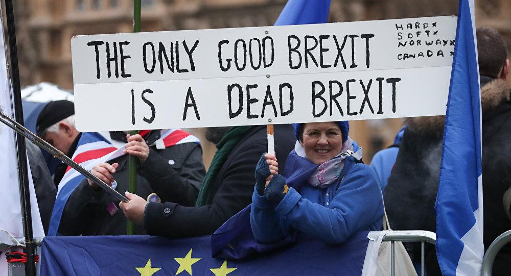 مجلس العموم البريطاني يصوت برفض خطة ماي للخروج من الاتحاد الأوروبي