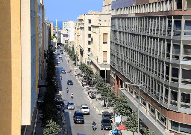 مناظر عامة للمدن العربية - مدينة بيروت، لبنان ديسمبر/ كانون الأول 2018