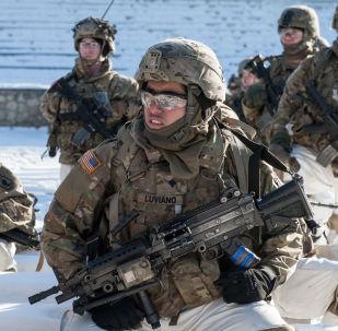 عسكريون أمريكيون في لاتفيا