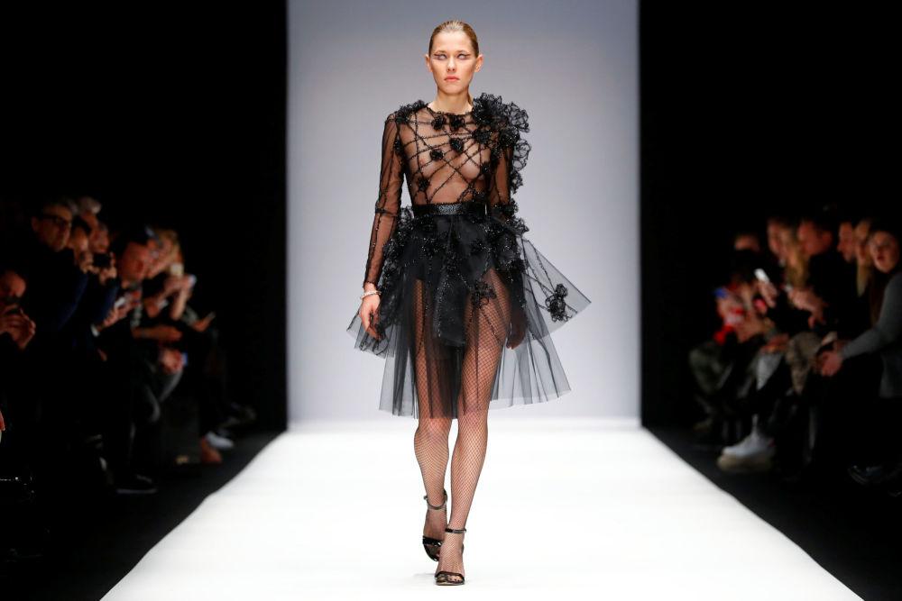 عرض أزياء خريف/ شتاء 2019/20 في إطار أسبوع الموضة في برلين، ألمانيا 15 يناير/ كانون الثاني 2019