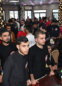 مخيم جرحى الحرب وأبناء الشهداء يفتح أبوابه مجددا في مصياف السورية