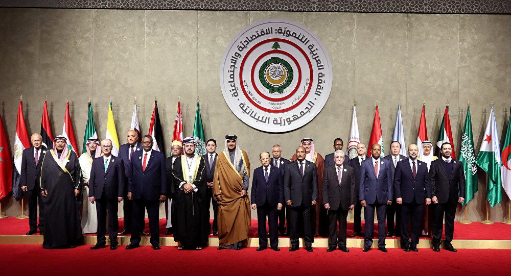 القمة العربية الاقتصادية في لبنان