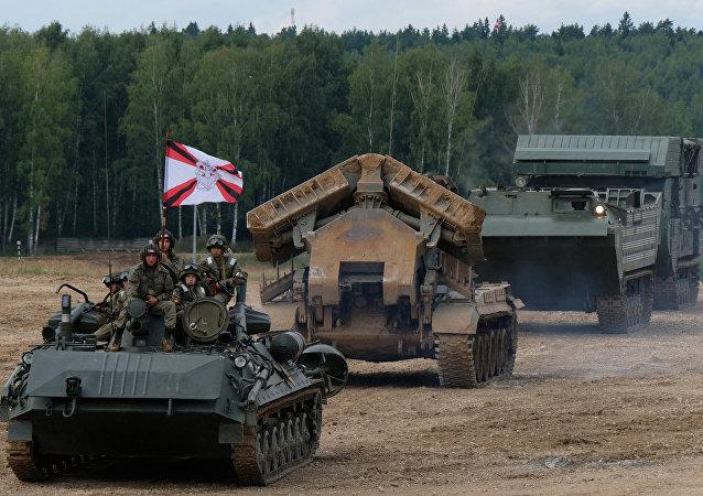 قوات الهندسة العسكرية الروسية