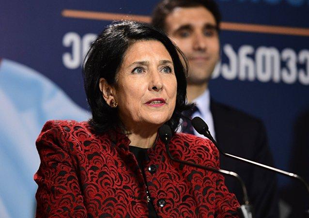 رئيسة جورجيا، سالومي زورابيشفيلي