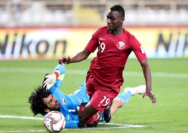 قطر والعراق في كأس آسيا 2019