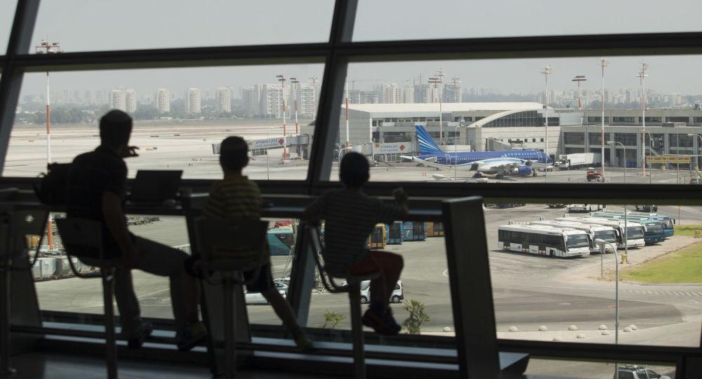 مطار بن غوريون الدولي في تل أبيب، إسرائيل 24 يوليو/ تموز 2014