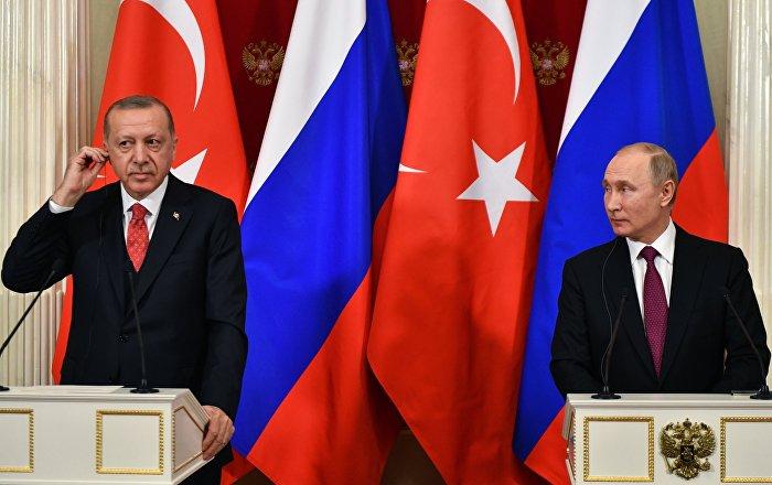 بوتين وأردوغان يتفقان على دحر الإرهاب في منطقة خفض التصعيد في إدلب