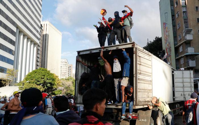واشنطن تقدم مساعدات إنسانية إلى فنزويلا في عهد ترامب بقيمة 213 مليون دولار