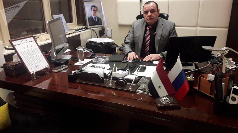 خالد تقي، رئيس فرع المنظمة الدولية الإسلامية في سوريا