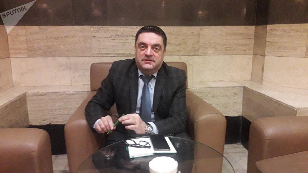 مراد غخييف، رئيس المنظمة الدولية الإسلامية في دمشق
