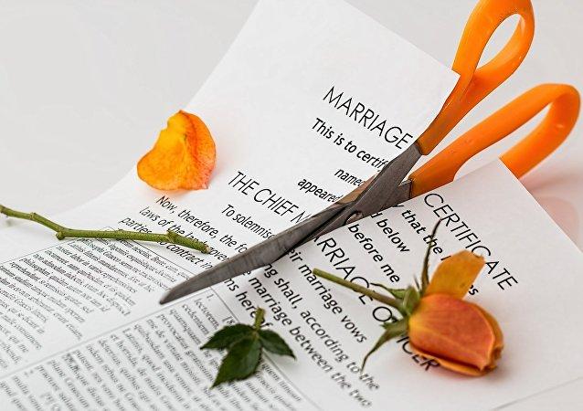 ورقة طلاق