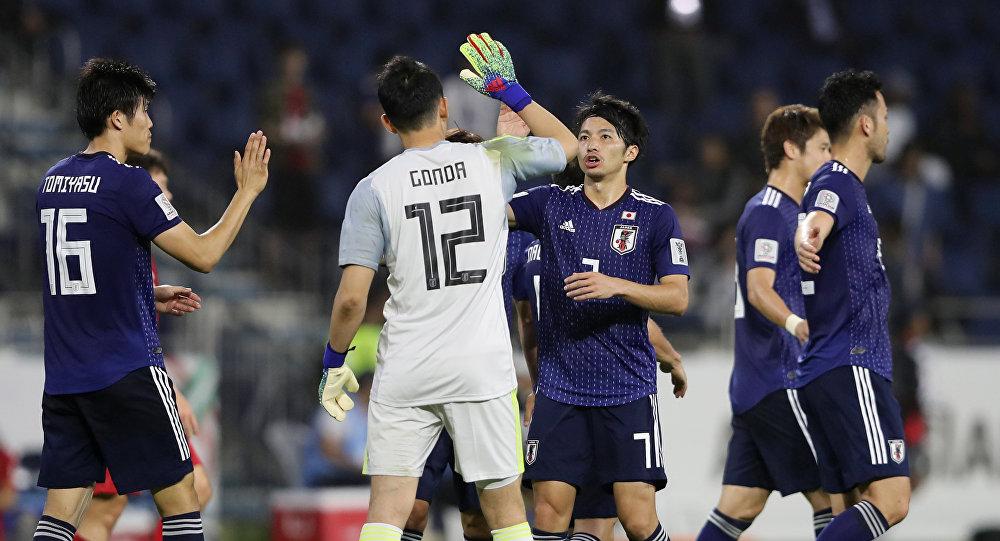 منتخب اليابان خلال بطولة كأس آسيا 2019