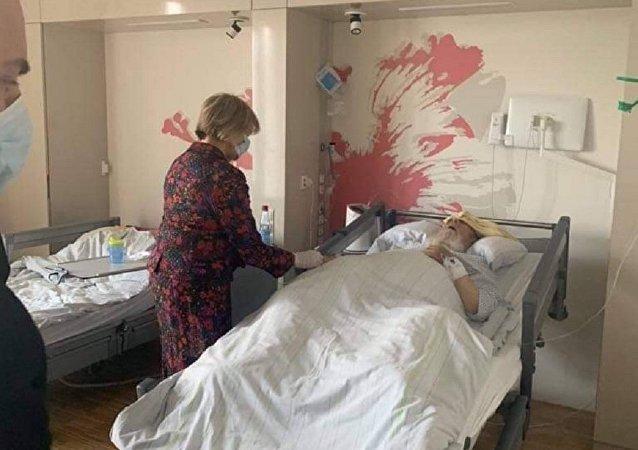 أمير إيزيدية العراق والعالم من داخل أحد مستشفيات أوروبا
