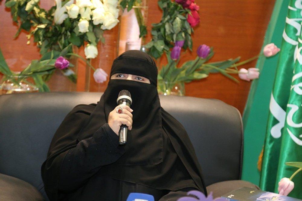 الشاعرة السعودية حياة حمد الدبيان