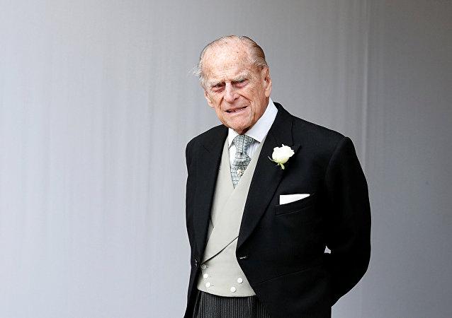 الأمير فيليب زوج الملكة إليزابيث ملكة بريطانيا