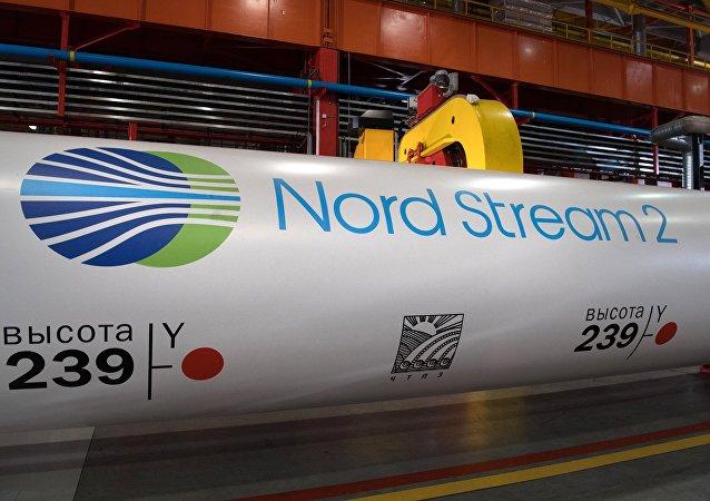 مشروع بناء خط أنابيب الغاز  السيل الشمالي - 2