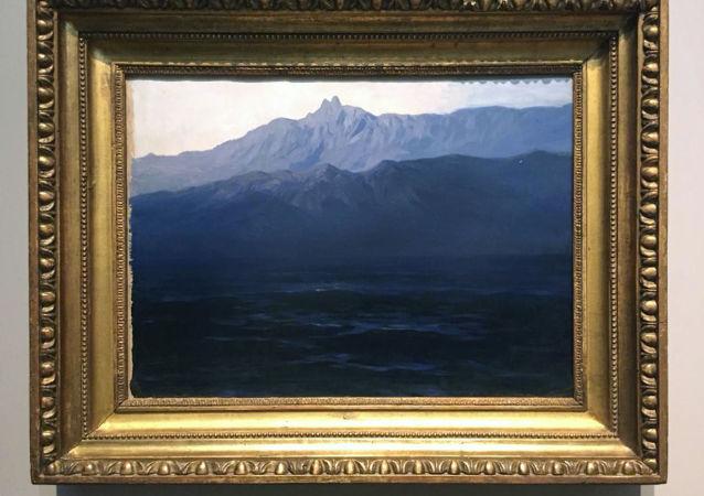 لوحة للفنان الروسي الشهير أرخيب كويندجي