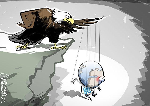 الولايات المتحدة الأمريكية تملي على الأمم المتحدة شروطها