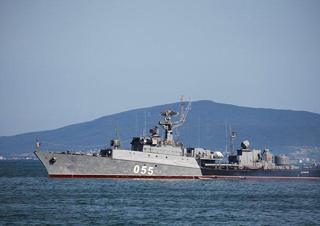 سفينة روسية مضادة للغواصات كاسيموف