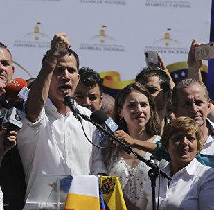 رئيس البرلمان الفنزويلي، خوان غوايدو