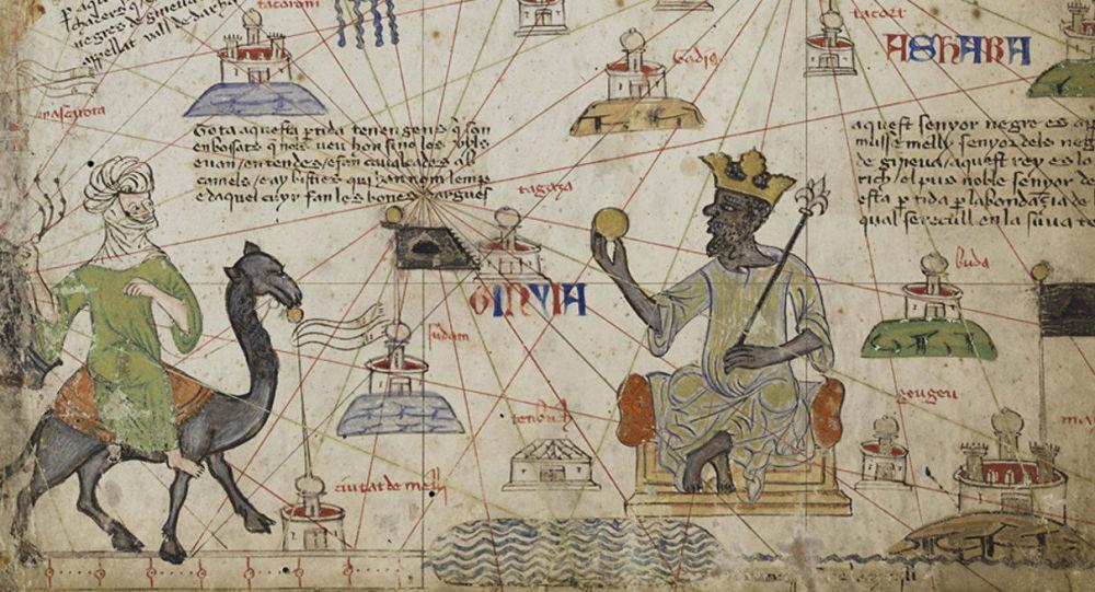 الأطلس الكاتالوني الذي يصور أغنى رجل في التاريخ مانسا موسى