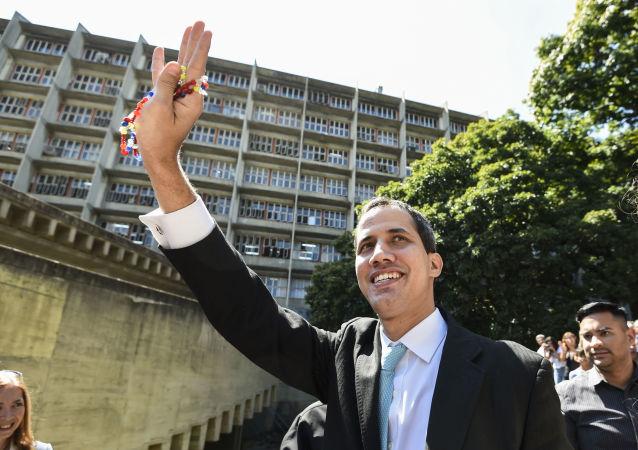 رئيس المعارضة الفنزويلية خوان غوايدو