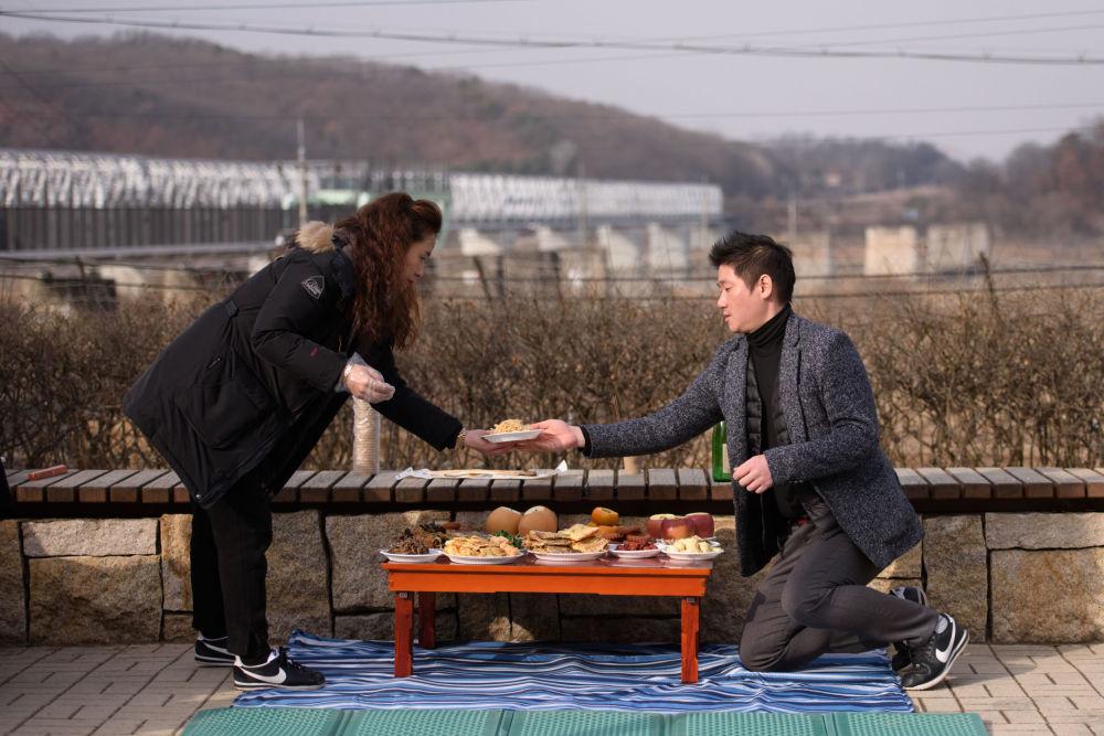 الاحتفال برأس السنة القمرية الصينية الجديدة في كوريا الجنوبية، 5 فبراير/ شباط 2019