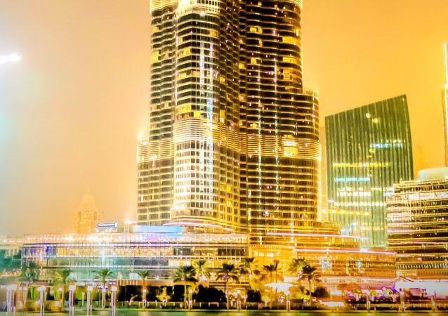 برج خليفة في دبي الإماراتية