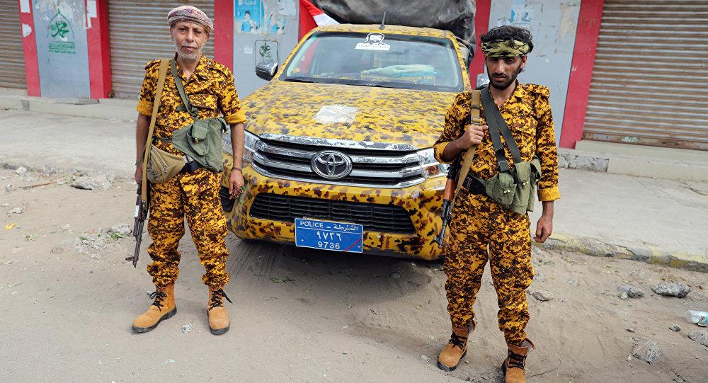 عناصر الشرطة اليمنية الحوثية في الحديدة، اليمن 31 ديسمبر/ كانون الأول 2018