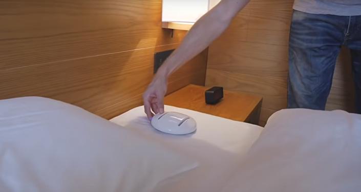 روبوت لتنظيف غرف الفنادق