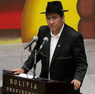زير خارجية بوليفيا، دييغو باريس رودريغيز