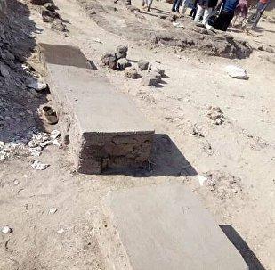 كشف أثري جديد في منطقة هرم ميدوم
