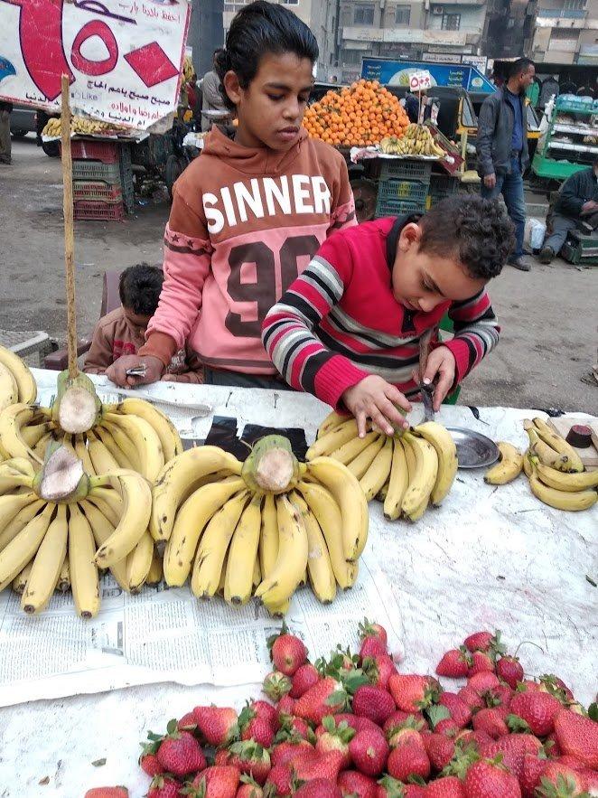 عمالة الأطفال في مصر
