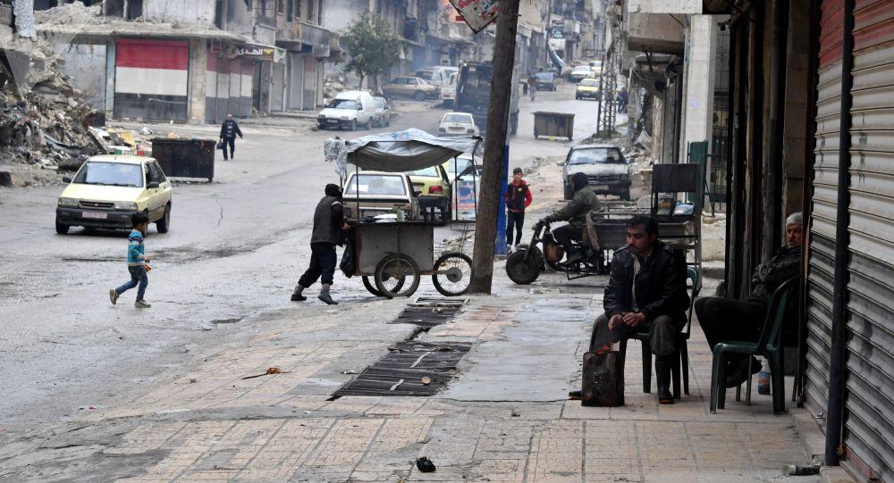 الحياة بعد الحرب، حي صلاح الدين، حلب، سوريا