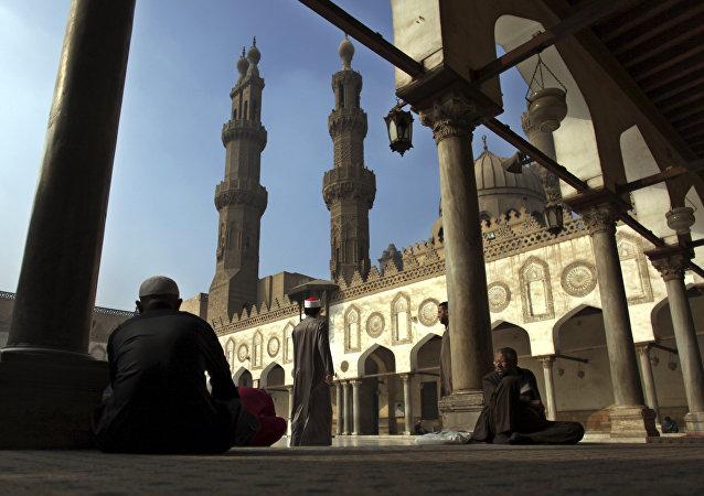 جامع الأزهر الشريف في القاهرة