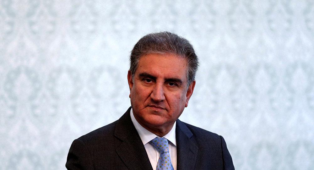 وزير الخارجية الباكستاني، شاه محمود قريشي