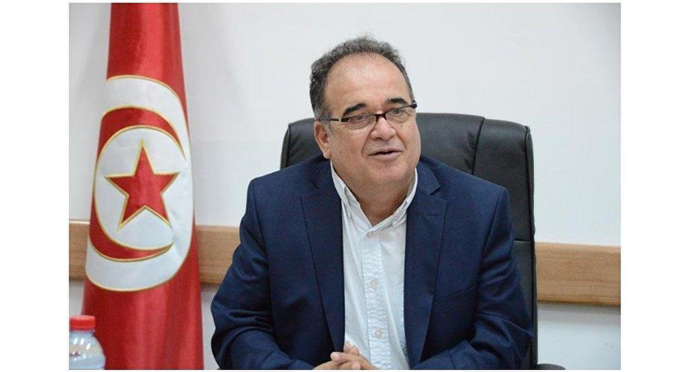 محمد الطرابلسي وزير الشؤون الاجتماعية التونسي