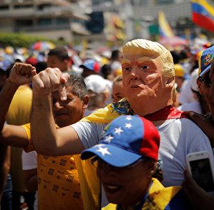 مظاهرات في فنزويلا