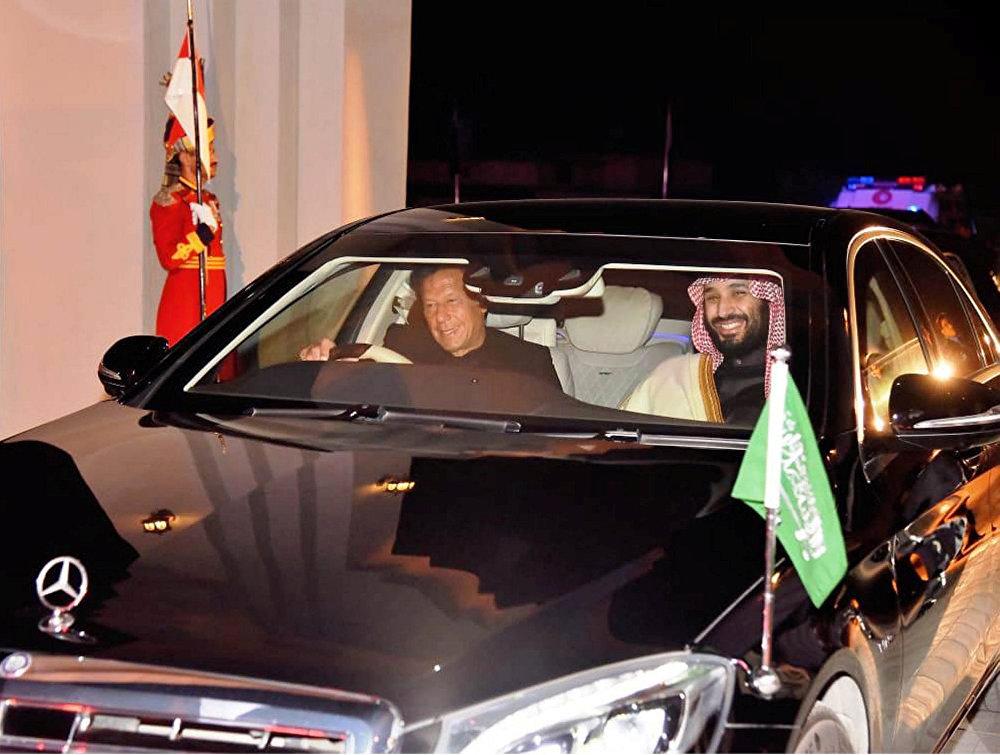 محمد بن سلمان وعمران خان