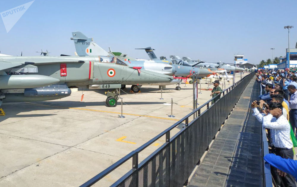 انطلاق المؤتمر والمعرض العسكري آيرو إنديا 2019 (Aero India 2019) في بنغالور، الهند 20 فبراير/ شباط 2019