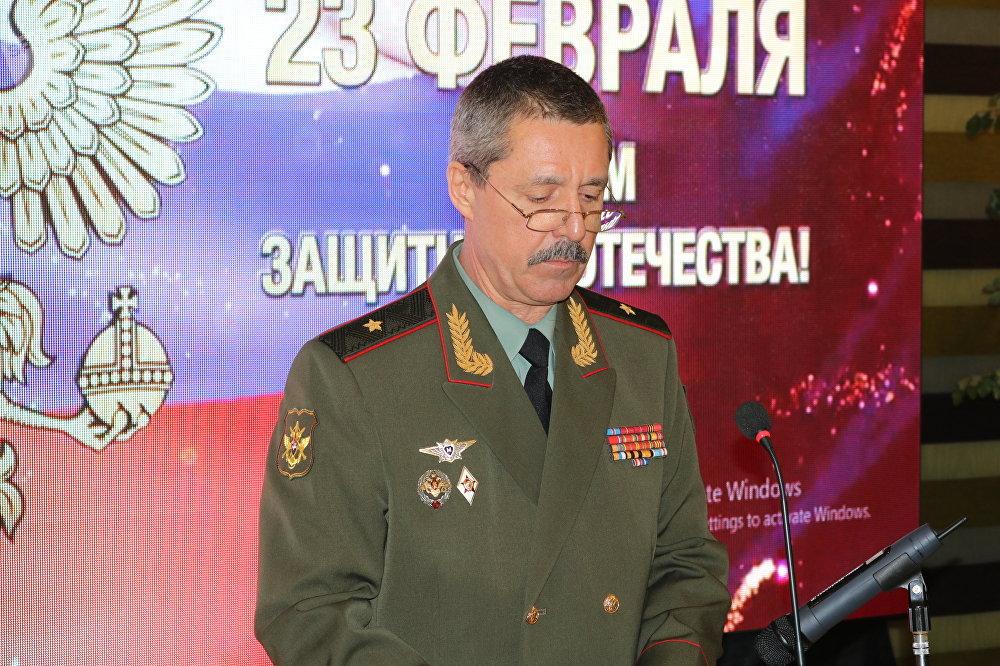 الملحق العسكري الروسي ديمترى بوندار