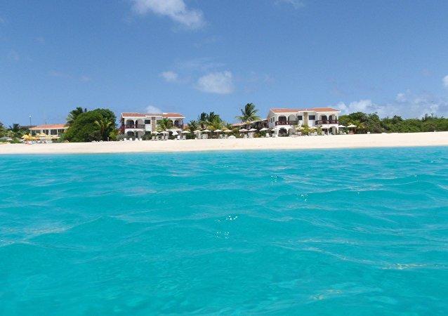 جزر أنجيلا – البحر الكاريبي