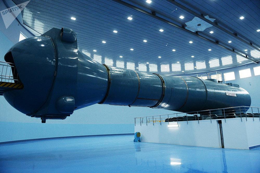 جهاز الطرد المركزي الفضائي في مركز تدريب رواد الفضاء