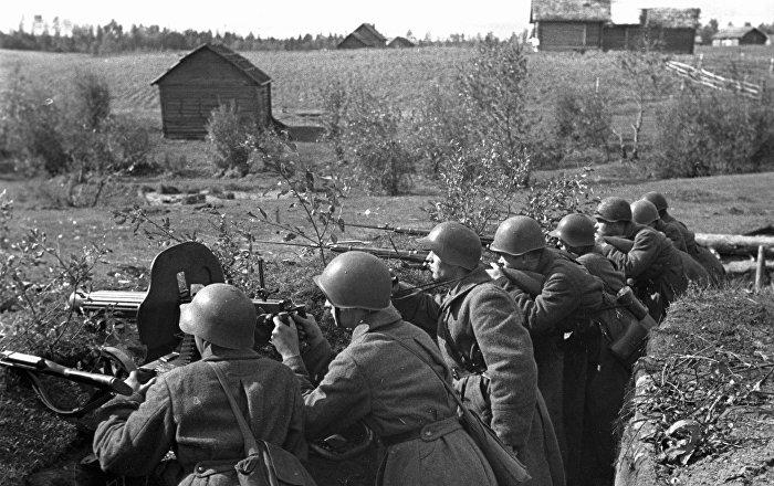 أيام العدوان الأولى…المعتدون يفرون من حراب بنادق الجنود الروس