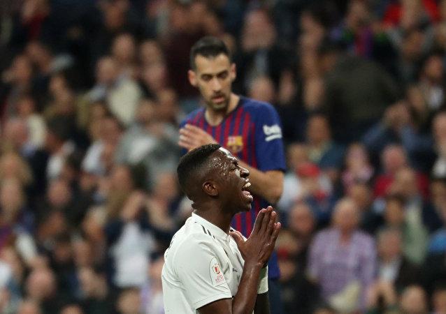مبارة  نصف النهائي لكأس الملك بين ريال مدريد وبرشلونة